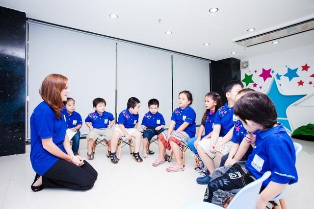 Khóa học tiếng anh cho trẻ em mẫu giáo tại Hà Nội
