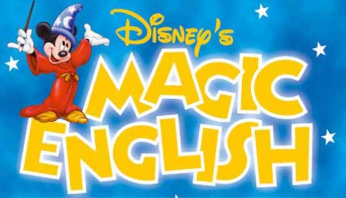 Disney's Magic English đĩa học tiếng Anh trẻ em
