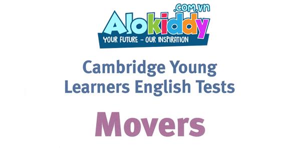 Chứng chỉ tiếng Anh quốc tế Movers là gì?