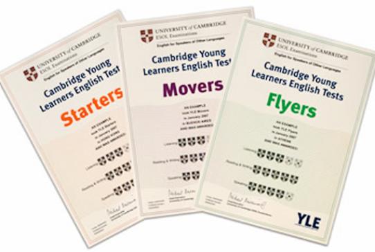 Giới thiệu về chứng chỉ Starters, Movers, Flyers và cách tính đểm
