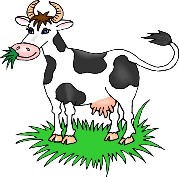 A Cow Grazing - Truyện tiếng Anh thiếu nhi cho bé lớp 1