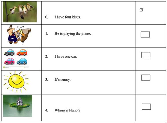 Bài ôn tập tiếng Anh lớp 3 theo sách mới
