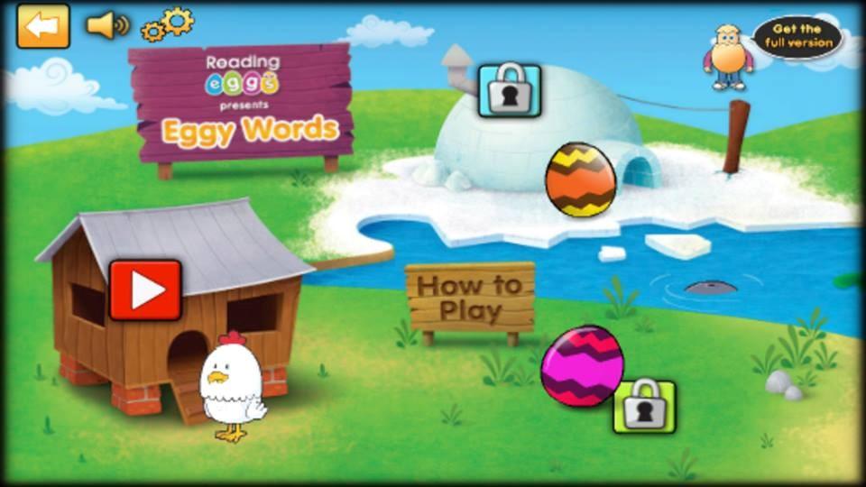 Phần mềm học tiếng Anh cho trẻ em lớp 1 Reading Egss