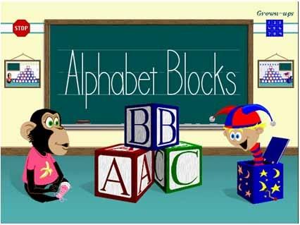 Phần mềm học tiếng Anh cơ bản cho trẻ em Alphabet Blocks