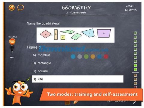 Phần mềm học tiếng Anh lớp 3 iTooch Elementary School
