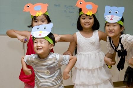 Phương pháp học tiếng Anh trẻ em mẫu giáo bằng kịch nghệ