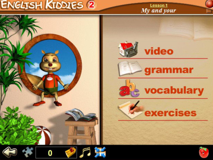 Đĩa tiếng Anh cho bé English kiddies