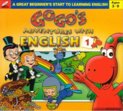 Bộ đĩa học tiếng Anh cho bé Gogo loves English