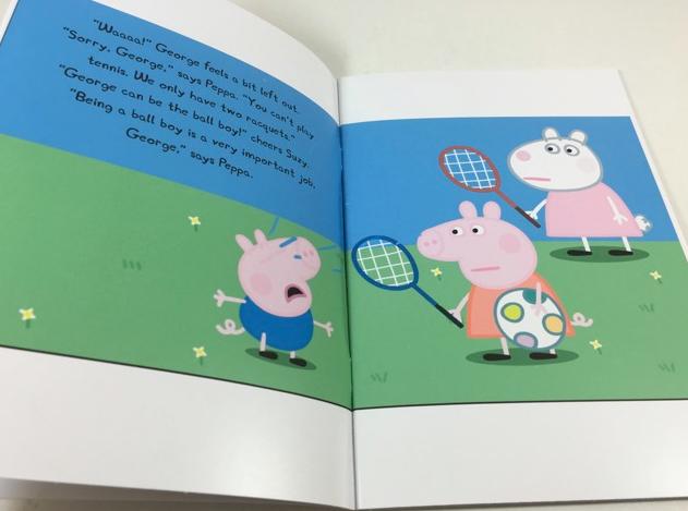 Sách tiếng Anh cho bé Peppa Pig