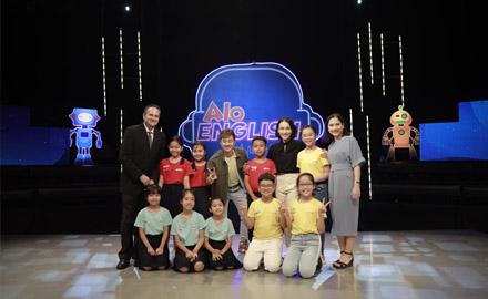 Alokiddy đồng hành và tài trợ Gameshow tiếng anh đầu tiên cho học sinh tiểu học trên kênh truyền hình VTV7