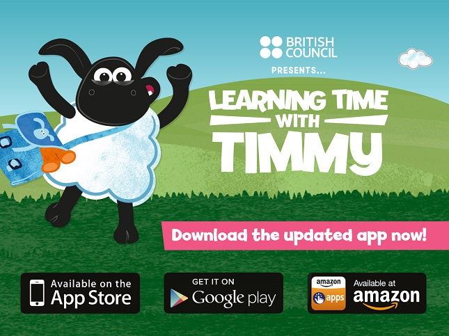 Learning Time with Timmy - Phần mềm học tiếng Anh cho trẻ lớp 1