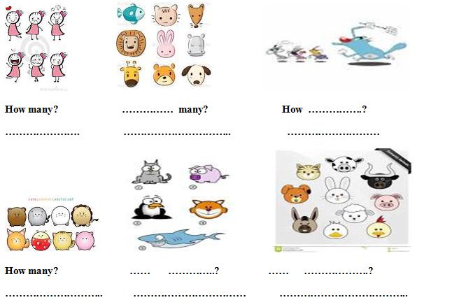 Bài ôn tập từ vựng tiếng Anh cho trẻ lớp 1 kèm hình ảnh