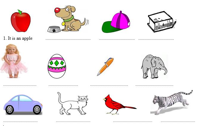 Bài tập tiếng Anh cho trẻ em lớp 2 theo chủ đề khiến bé thích mê