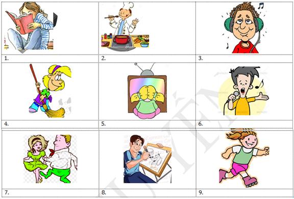 Bài tập tiếng Anh cho trẻ lớp 3 Unit 18