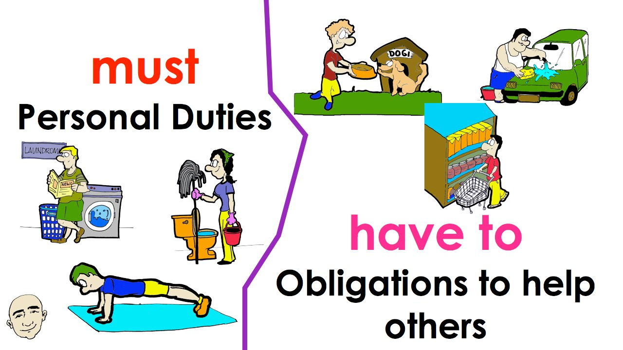 Bài tập tiếng Anh về Must và Have to