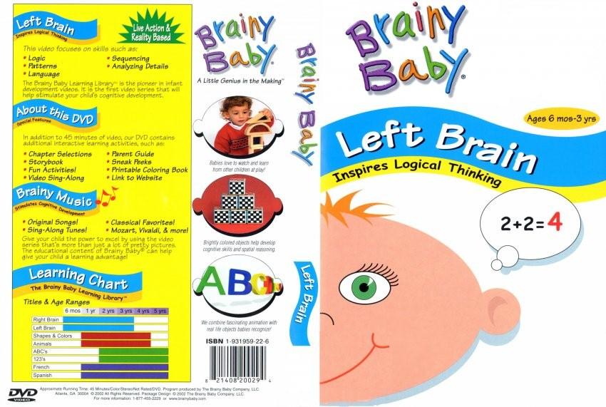 Bộ đĩa học tiếng Anh cho trẻ em mẫu giáo Brainy Baby