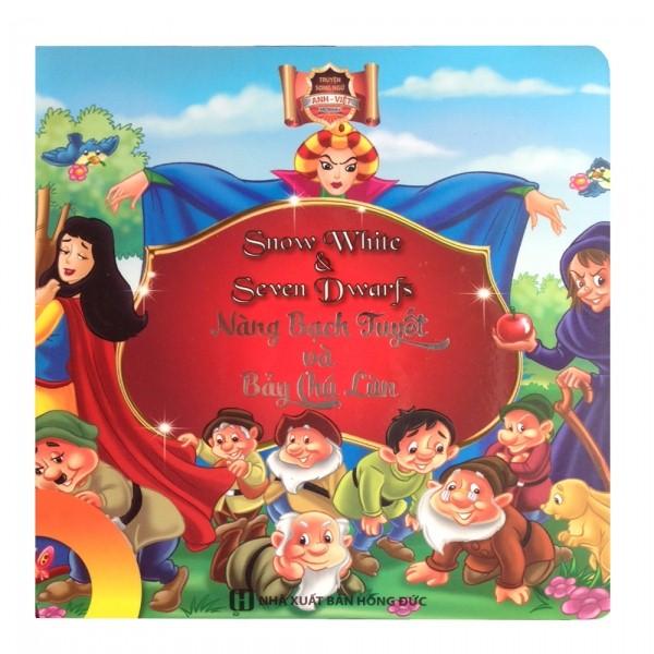 Bộ truyện tiếng Anh song ngữ cho bé lớp 2 Công chúa tóc mây