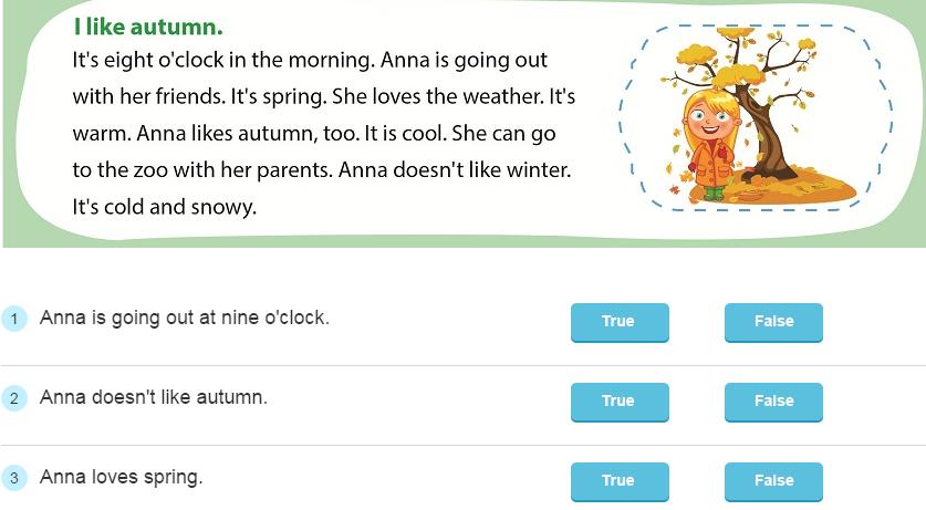 Dạy đọc tiếng Anh lớp 2 bài học I like spring