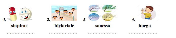 Đề kiểm tra tổng hợp tiếng Anh lớp 5 cuối năm