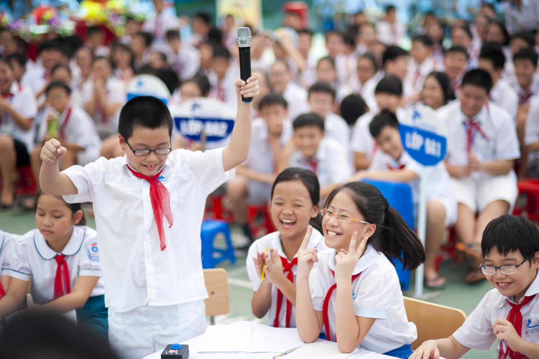 Đề thi tiếng Anh lớp 5 giữa học kì 1 có đáp án cho trẻ em