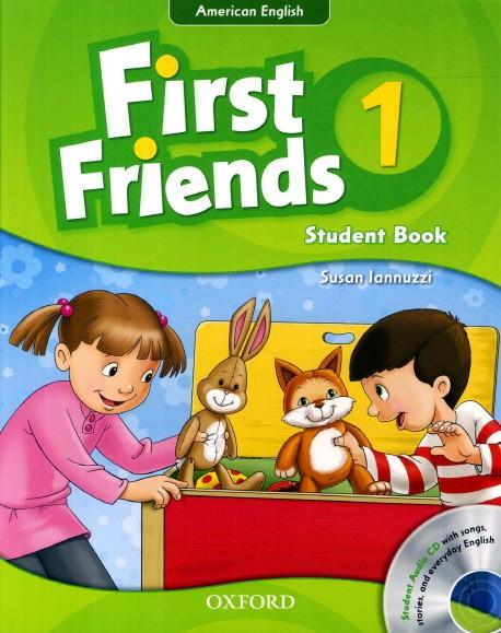First Friend 1 sách giáo trình tiếng Anh cho trẻ em lớp 1