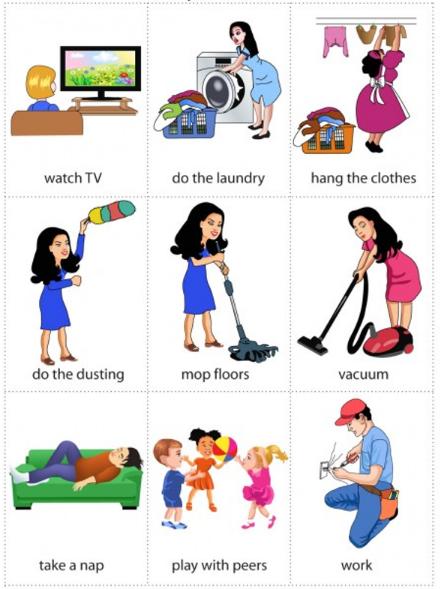 Học tiếng Anh qua hình ảnh theo chủ đề cho trẻ lớp 1 (P1)