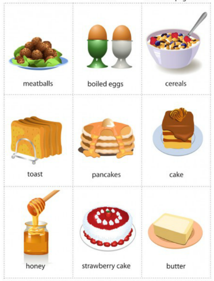 Học tiếng Anh qua hình ảnh theo chủ đề cho trẻ lớp 1 (P2)