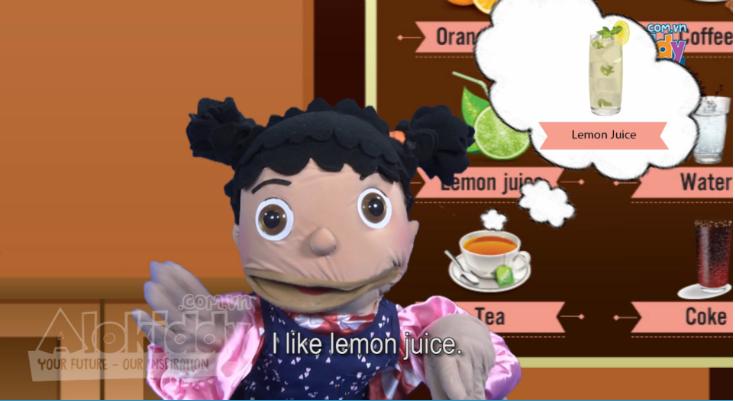 Học từ vựng tiếng Anh trẻ em lớp 1 qua hình ảnh chủ đề đồ ăn nhẹ