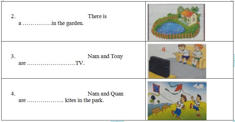 Lời giải đề thi tiếng Anh lớp 3 dành cho trẻ năm 2016