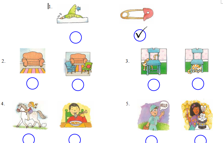Lời giải đề thi tiếng Anh lớp 3 nâng cao dành cho bé