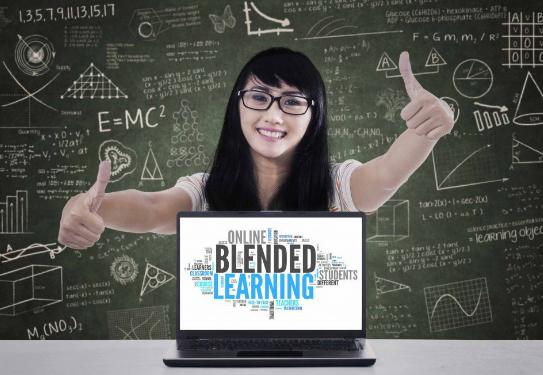 Mô hình lớp học Flex của Blended learning