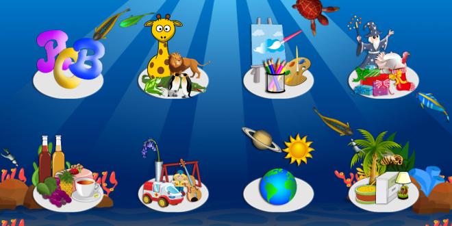 Phần mềm học tiếng anh cho trẻ em trên ipad My First Words