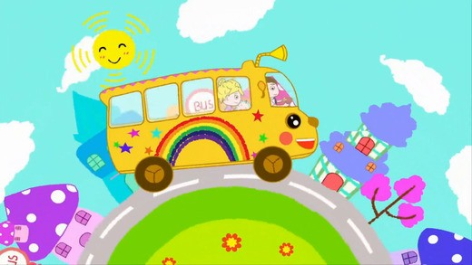 Phần mềm tiếng Anh cho trẻ lớp 1 The Wheels On The Bus