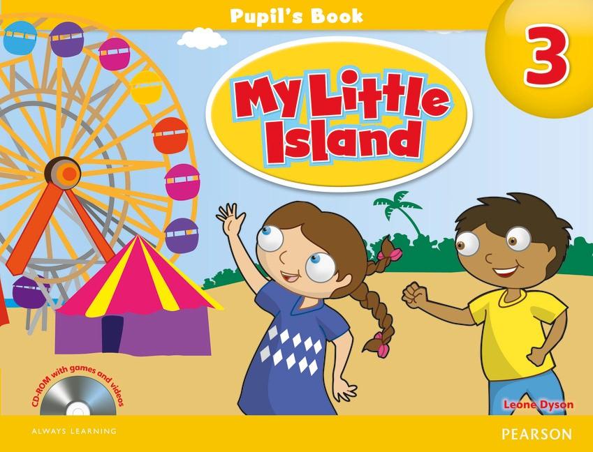 Sách tiếng Anh dành cho học sinh lớp 1 Pearson My Little Island 3