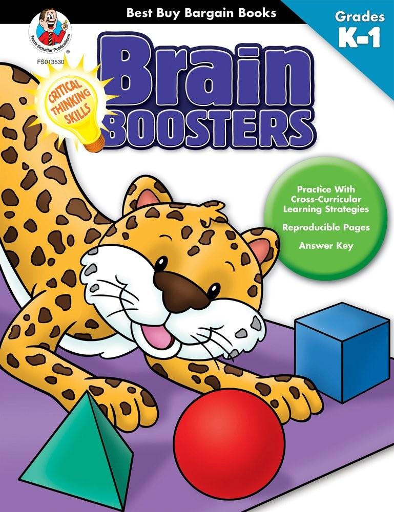 Sách tiếng Anh cho trẻ mẫu giáo Brain Boosters