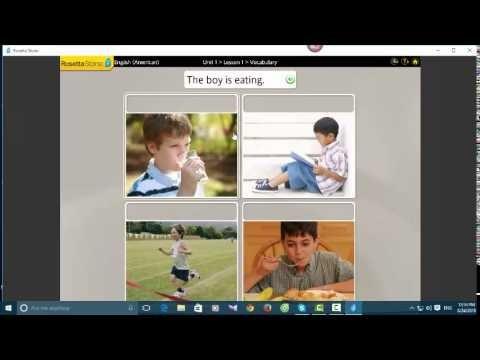 Trẻ lớp 5 học phần mềm tiếng Anh Rosetta Stone