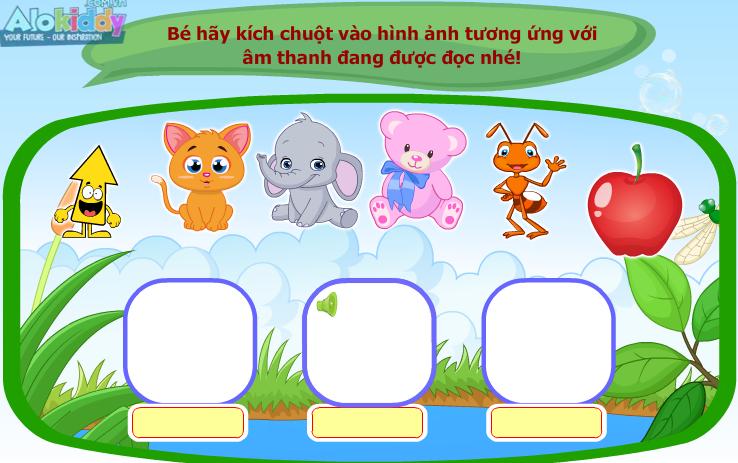 Tổng hợp phần mềm học tiếng Anh cho trẻ em mẫu giáo